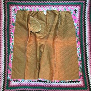 Vintage Skirts - Vintage quilted maxi skirt